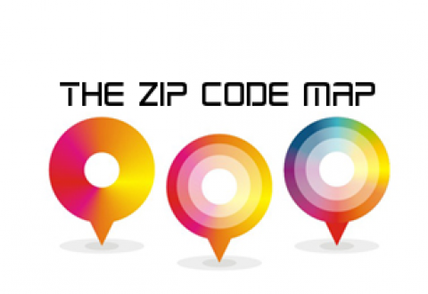 The Zip Code Map